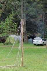 The kids' maypole, 2014. Photo courtesy of Mark H.