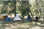 Camping in 2002.