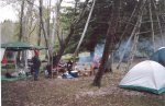 The Geelong Pagans' campsite, 2003.