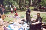 A sunny afternoon at the 2004 Gathering.