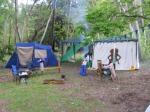 A campsite in 2005.