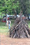 The 2006 bonfire was a mighty one!