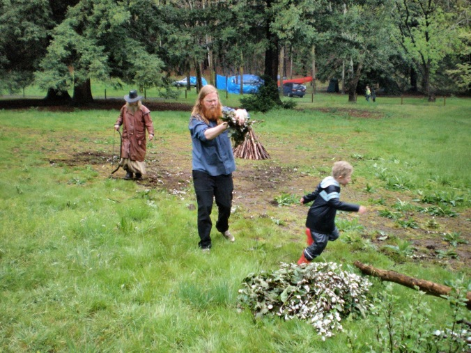 Preparing the Circle, 2010.