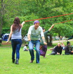 The 2014 maypole. Photo courtesy of Kylie Moroney.
