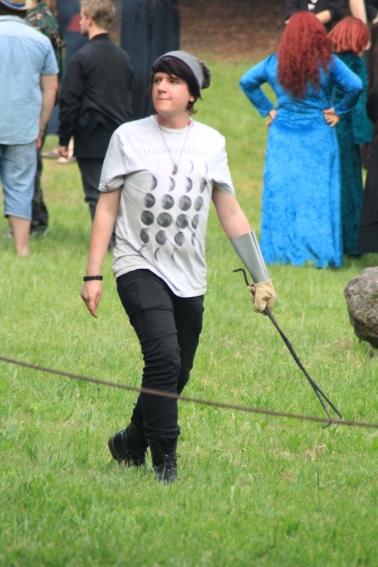 Ryan at the 2014 Gathering. Photo courtesy of Kylie Moroney.
