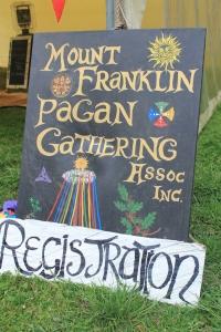 At the 2014 Gathering. Photo courtesy of Kylie Moroney.