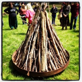 The balefire at the 2012 Gathering, courtesy of Ryan M.