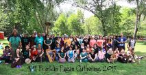 Attendees of the 2015 Gathering. Photo courtesy of Kylie Moroney.
