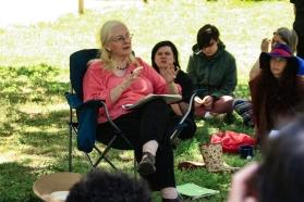 Linda's workshop at the 2015 Gathering. Photo courtesy of Kylie Moroney.