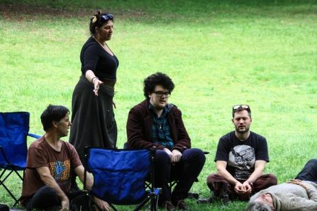 Seline's workshop at the 2015 Gathering. Photo courtesy of Kylie Moroney.
