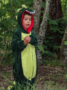 A dinosaur at the 2015 Gathering! Photo courtesy of Kylie Moroney.