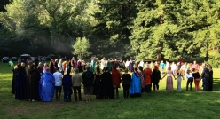 At the 2015 Gathering. Photo courtesy of Kylie Moroney.