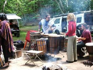 The Beltane Drummers