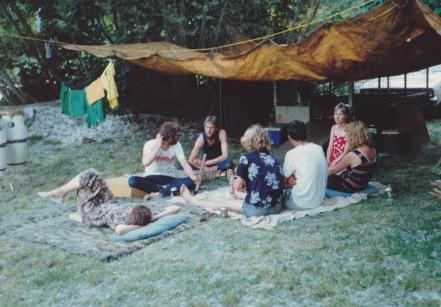 """Deep in Discussion"" - Circa 1987"