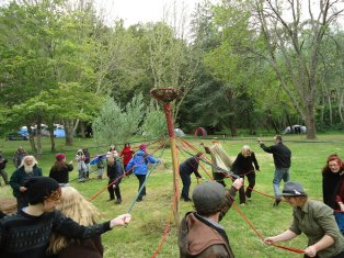 More 2011 Maypole madness!