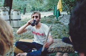Gary Trevers, 1987. Photo courtesy of Linda.