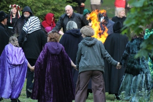 The Spiral Dance, 2011. Photo courtesy of Kylie Moroney.