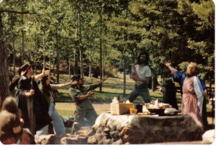 Ta da! Circa 1982. Photo courtesy of Ray.
