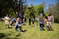 The maypole dance at the 2017 Gathering. Photo by Kylie Moroney Photography.