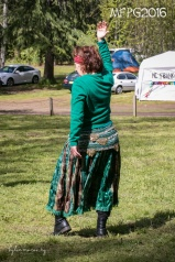 Bellydancing workshop with Anne at the 2016 Gathering. Photo by Kylie Moroney.
