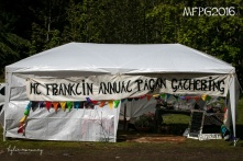 Our new marquee at the 2016 Gathering. Photo by Kylie Moroney.