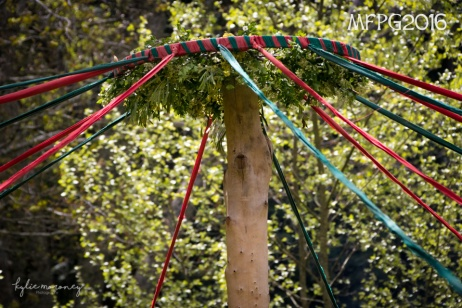 The maypole at the 2016 Gathering. Photo by Kylie Moroney.